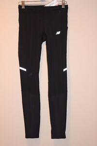 c3ecba08e8d37 New Balance Heat Tight Women's Pants X-SMALL XS BLACK WP63221 NEW ...