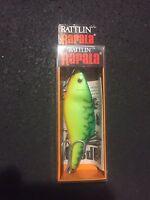 Rapala Rattlin Rnr-8 Ft Fire Tiger 3-1/8 3/4 Oz (ireland)