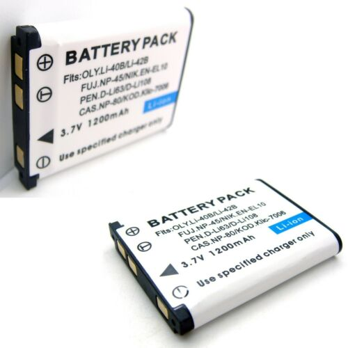 2x Li-Ion Batería Para Sanyo BYD DS-5370 DS5370 MH10188 MH-10188 1UF583136R-HH