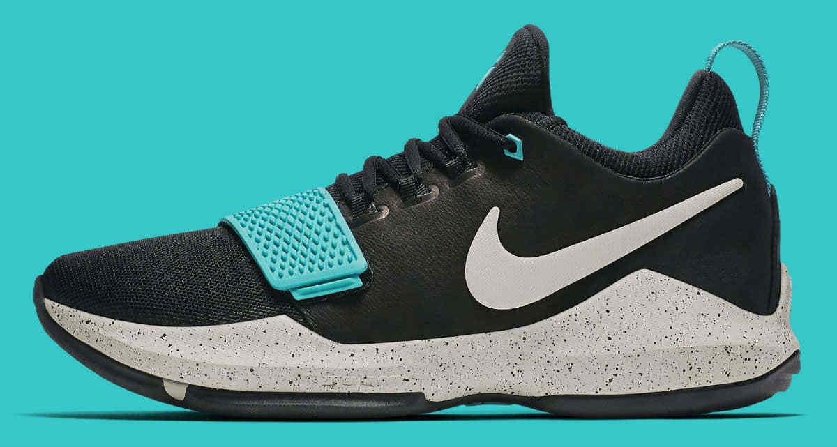 Zapatilla de baloncesto Hombres Nike PG 1 Hombres baloncesto tamaño 13 a01d98