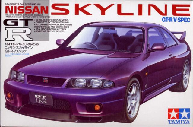 Tamiya 1/24 Nissan Skyline Gt-R V Especial #24145