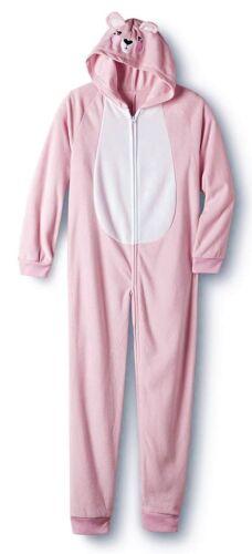 Size 4//5 Girls One Piece Pajamas Blanket Sleeper Footed Dog Bear Christmas S NEW
