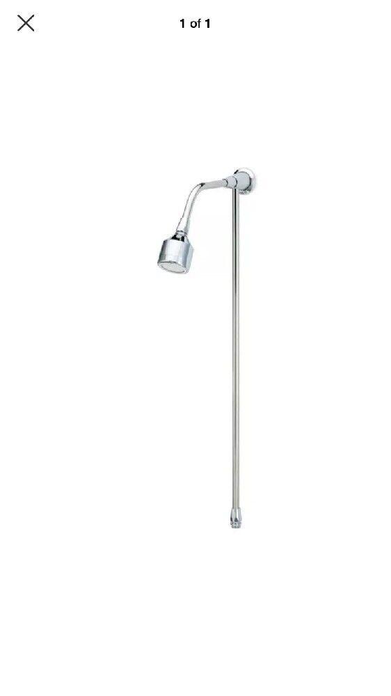 Rada 1.0.108.45.1 Chrome ER-S 310 Tête de douche montage avec montage tuyau et bras