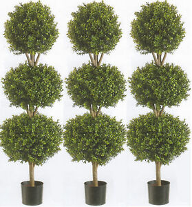 Image Is Loading 3 Artificial 56 034 Boxwood Ball Bush