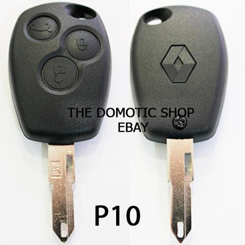 LLAVE CARCASA Nuevo Mando DACIA Logan Sandero clio  Remote Key y mas modelos