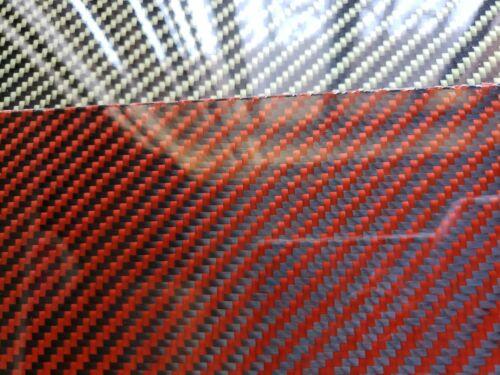 """18/""""x18/""""x/""""1//8/"""" 2x2 Twill Carbon Fiber Fiberglass Plate Sheet Glossy One Side"""