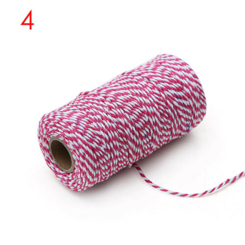 Home Decor Bakers Cotton Cords Twine String DIY Rope Packing Craft Projects