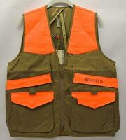 Beretta Upland Vest Hunting / Shooting Saddle Tan & Blaze Orange M, Xl, Xxl