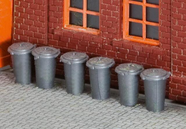 Faller 180905 - 1/87/H0 10 Trash Bins - New