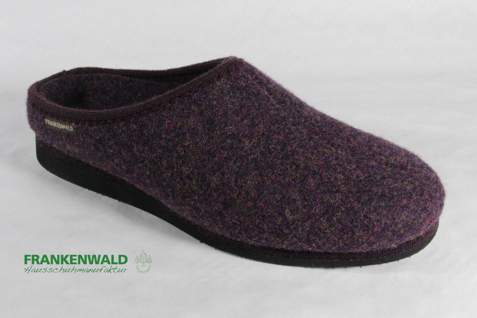 Frankenwald le Signore Pantofola,Pantofole Ciabatte con Fodera in Feltro,Lilla