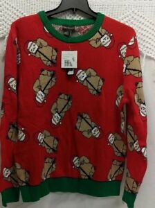 Sloth Ugly Christmas Sweater.Details About Alex Stevens Men S Santa Sloth On Razor Scooter Ugly Christmas Sweater Size Xl
