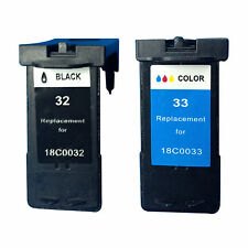 Reman ink Cartridge for Lexmark ILX32/33 (Black/Tri-Color) use in Lexmark X8350