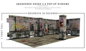In-STOCK-034-Abandoned-House-034-2-0-Pop-Up-DIorama-Display-1-12-Scale-Action-Figures