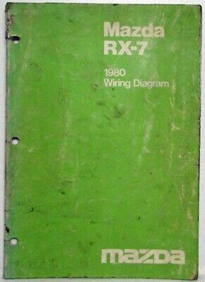 1980 Mazda RX-7 Wiring Diagram | eBay | 1980 Mazda Rx 7 Wiring Schematics |  | eBay