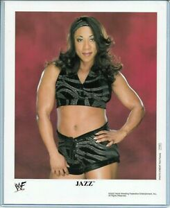 WWE-JAZZ-P-753-OFFICIAL-LICENSED-AUTHENTIC-ORIGINAL-8X10-PROMO-PHOTO-VERY-RARE