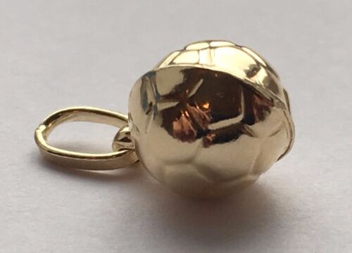 Details about  /14 K YELLOW GOLD SOCCER BALL PENDANT CHARM MADE IN ITALY FREE SHIPPING