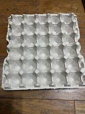 30 Count Egg Cartons Paper Trays Flats Crafts Eggs School Art 6 Pieces