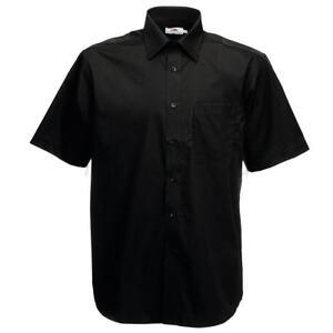 Fruit-of-the-Loom-Poplin-Short-Sleeve-Shirt