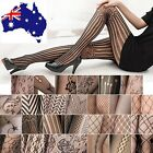 Fashion Sexy Black Fishnet Pattern Jacquard Stockings Pantyhose Tights Women