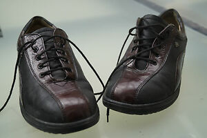 FINN-Comfort-Damen-Schuhe-Schnuerschuhe-mit-Einlagen-Gr-4-37-Lack-Leder-TOP