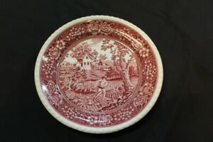 Villeroy-amp-Boch-Mettlach-Rusticana-Big-Plate-Flat-Red-12-5-8in