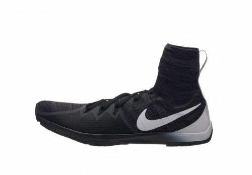 NIKE Zoom Victory Waffle 4 XC Black White Cross Country Spikeless 878803-001