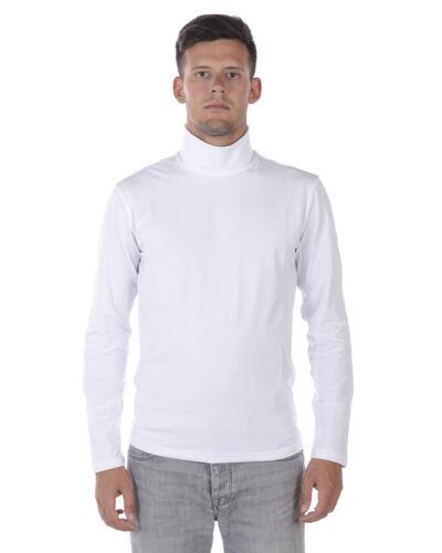Daniele Alessandrini Sweater Pullover MADE IN ITALY Man White M5705E4603705 2