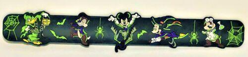New Disneyland Glow In Dark Disney Mickey Halloween Slap Bracelet 2019 Disney
