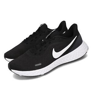 Nike-Revolution-5-Black-White-Anthracite-Men-Running-Shoes-Sneakers-BQ3204-002
