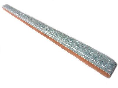Fliesenbordüren 25x1,5 cm Bordüren Bordüre Matita Flor türkis mit Gltzereffekt