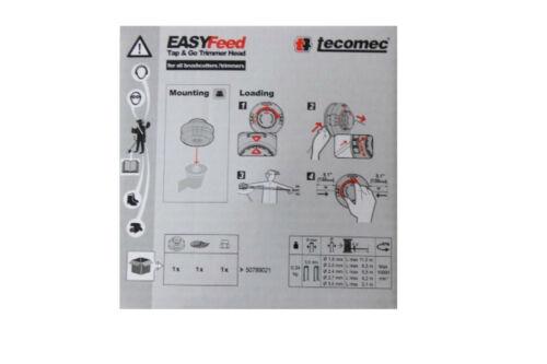 Fadenkopf Tecomec Easy Feed ALKO AL-KO BC 4535 4125 260 410 FRS 410 4125