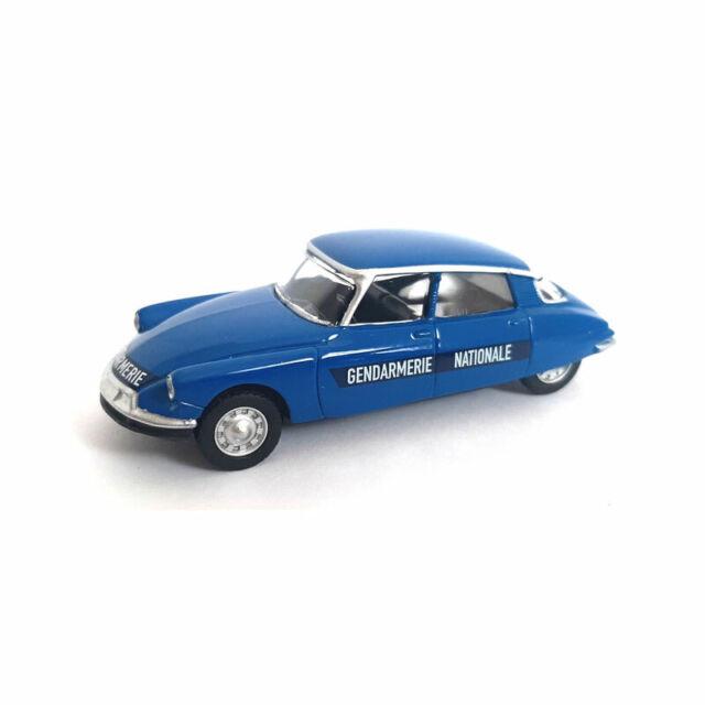 "NOREV 319251 Citroen DS23 Pallas "" Gendamarie "" Blue - Multigam Classic 1:54 New"