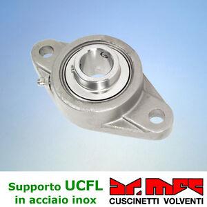 Supporto-serie-UCFL-200-completo-di-cuscinetto-autoallineante-in-acciaio-inox