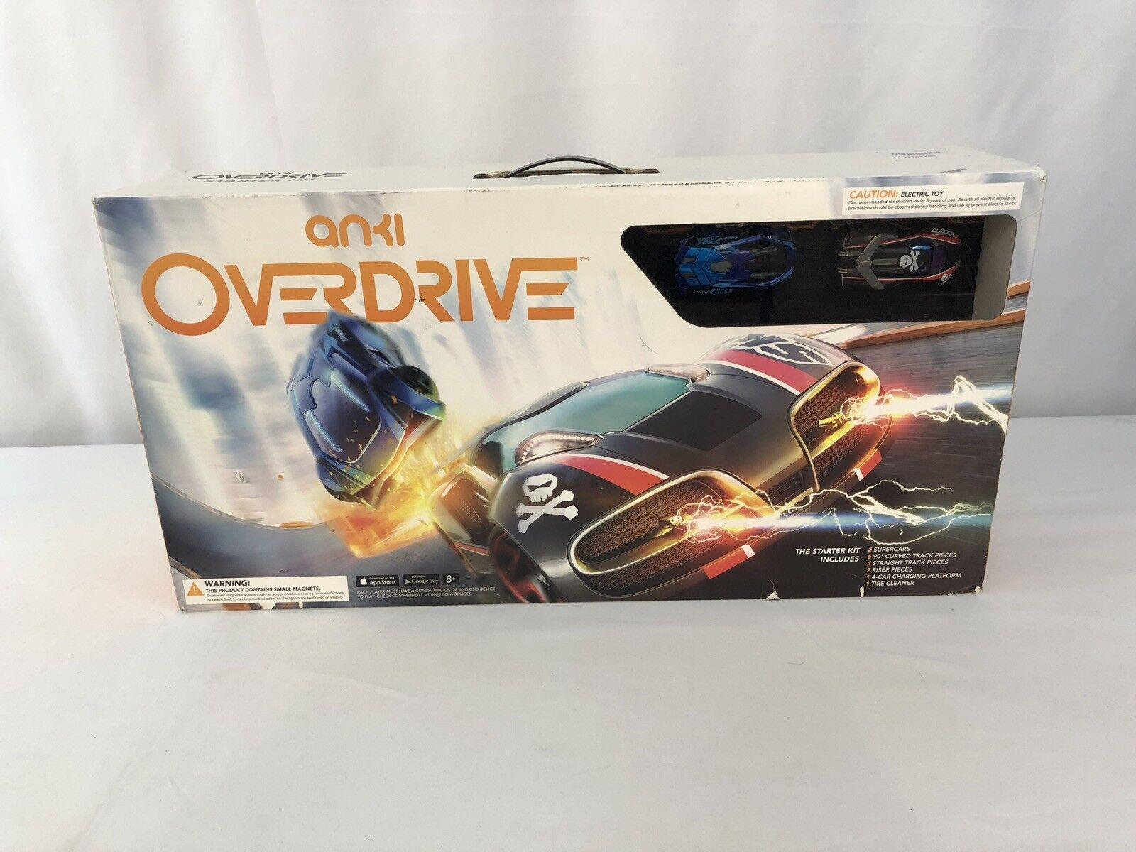 Anki Overdrive Lot Starter Kit + Corner Kit & Launch Kit, Extra Supercar Nuke
