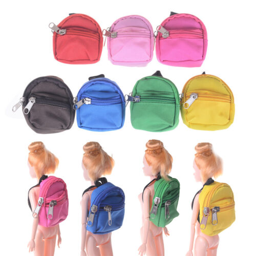 Doll Backpack 1//6 Doll Bag Accessories For Kid Girl Toy Gift  OJ