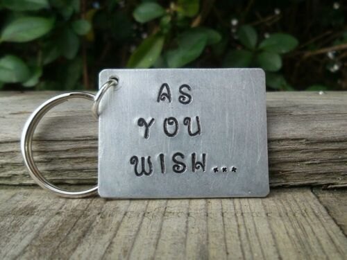 As You Wish KEYRING Gift Princess Bride Gifts for Him Her Birthday Keyring Movie