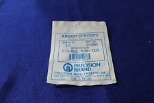 """Precision Brand 24270 1-3//8/"""" X 1-7//8/"""" x 0.010/"""" Steel Arbor Spacer Pack of 10"""