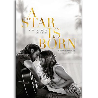 A Star Is Born Movie Art Silk Poster 12x18 24x36