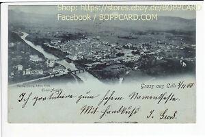 SLOWENIEN-GRUSS-AUS-CILLI-CELJE-1900-Q