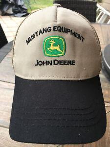 b67914b052f Image is loading John-Deere-Quality-Farm-Equipment-Trucker-Cap-MUSTANG-