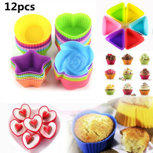 12pcs-Soft-Silicone-Cake-Muffin-Cupcake-Mold-Chocolate-Baking-Cup-Mould-Kitchen