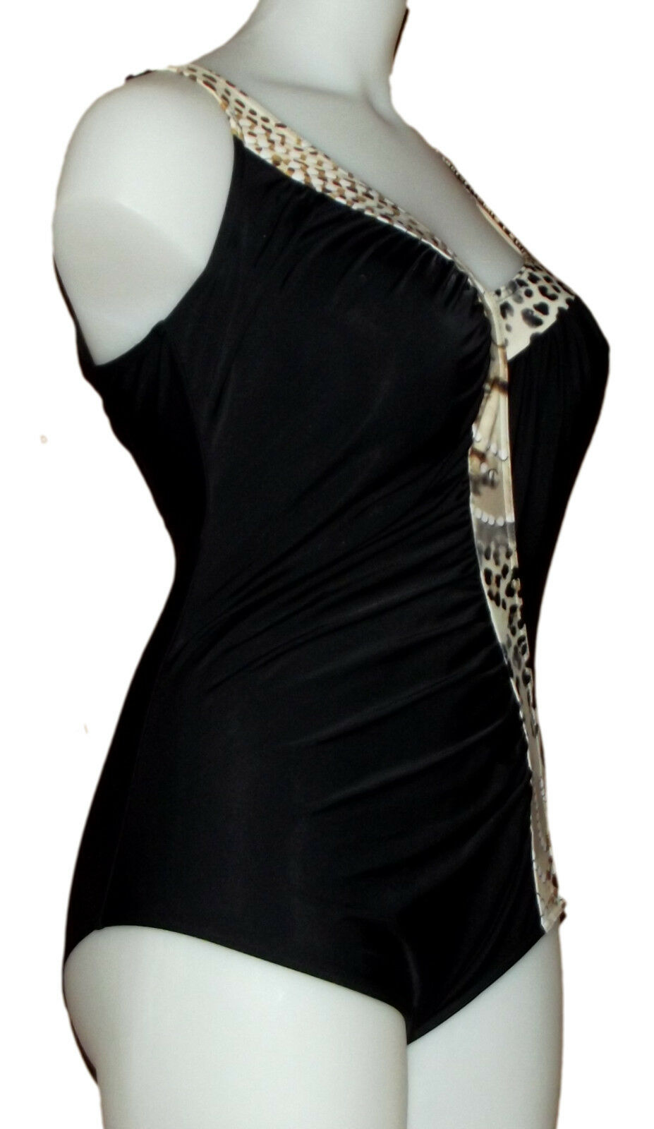 Anita Classix Costume da bagno 50c NERO-LEOPRINT Josetta 7355 UVP UVP UVP 77d5ee