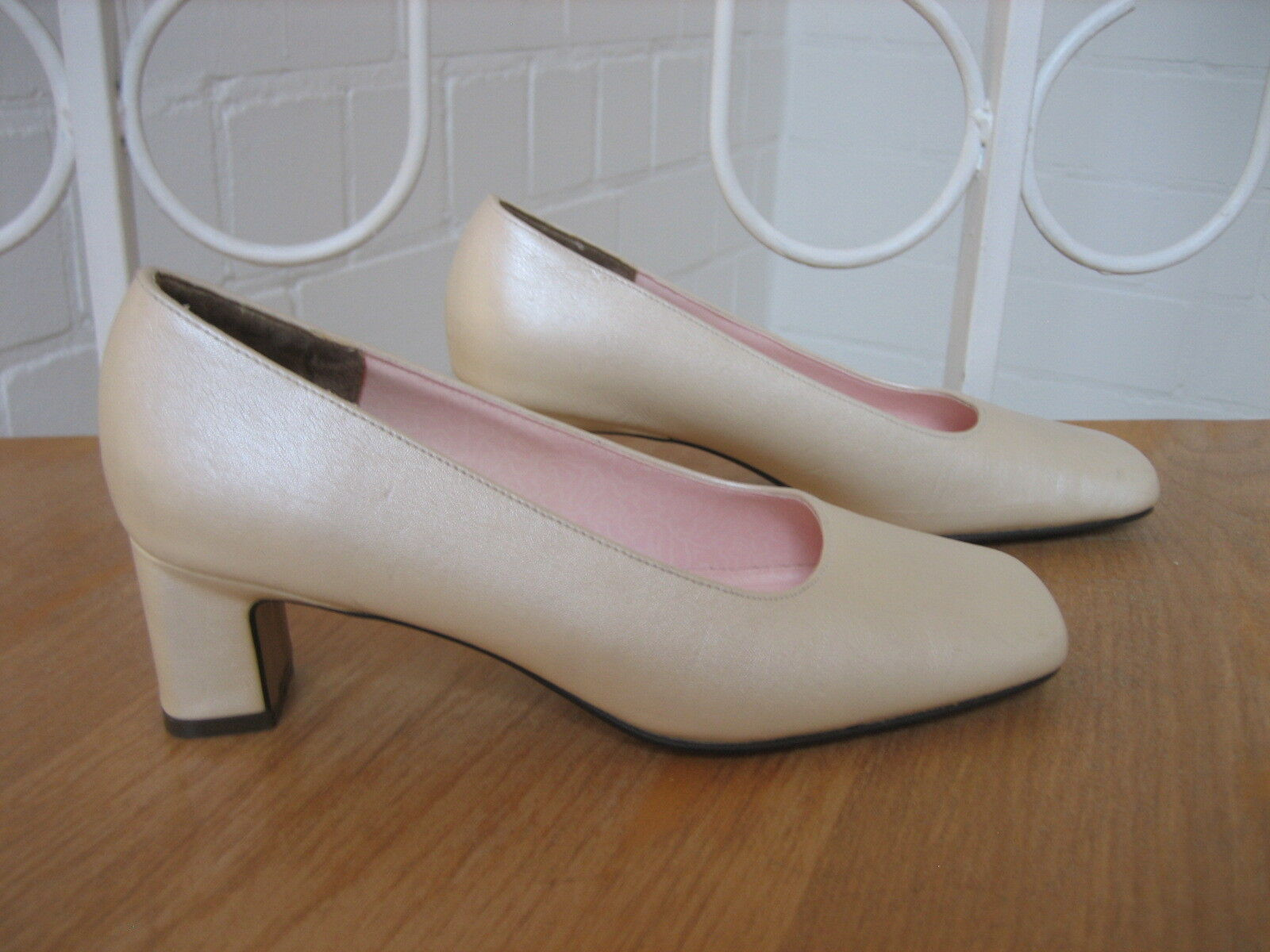 Bridal Shoes/Shoes Pumps by Pink Paradox London (Size 37) Cream/Ivory
