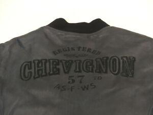 CHARLES-CHEVIGNON-CASUAL-LEDERJACKE-LEGEND-LABEL-57-B-ROUND-GR-XL-TIP-TOP