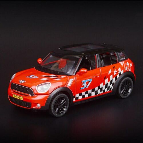 Mini Cooper Countryman 1:32 Scale Metal Alloy Model Vehicle Car Pull Back Toy