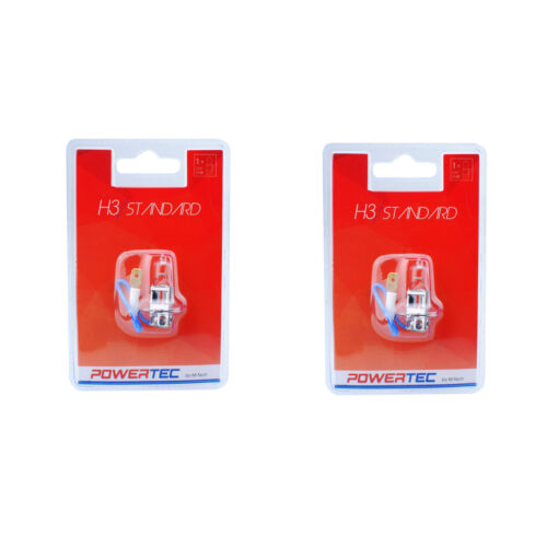 12V 55W High Quality Halogen Bulb H1 H3 Car Headlight Bulbs Single Pair Set