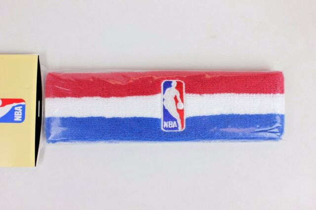 Buy NBA Logo Red White Blue Retro Vintage Headband online  dcfcf98b040