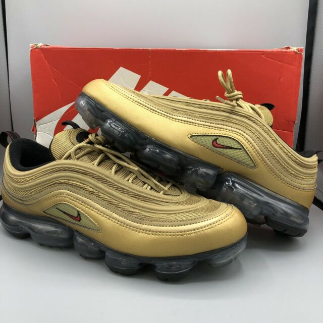 newest 8bbb8 58b7b Nike Air Vapormax 97 size 13 Metallic Gold Varsity Red Black White  AJ7291-700