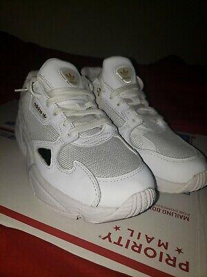 Womens Adidas Originals Falcon W White