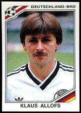 Klaus Allofs Deutschland - BRD #193 World Cup Story Panini Sticker (C350)